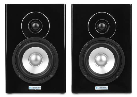 Speaker Aktiv 2 1 Bluetooth E80 mcgrey bts 235a aktiv studio monitor lautsprecher paar mit
