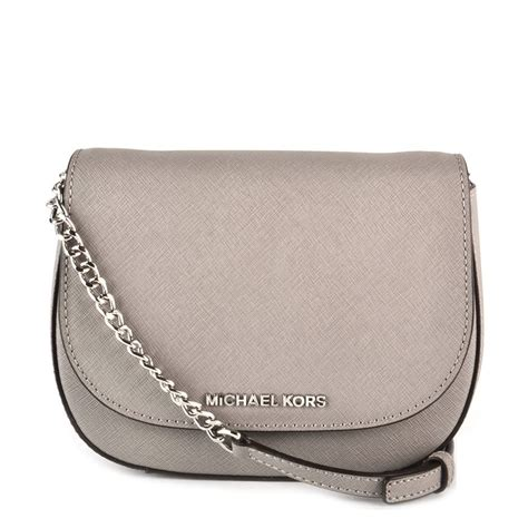Mk Jetset Travel Pearl Grey michael by michael kors jet set travel pearl grey small crossbody bag michael by michael kors