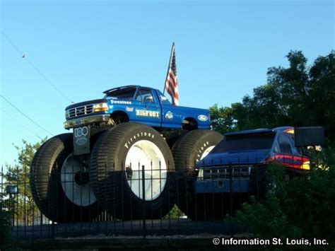 bigfoot truck st louis bigfoot 4x4 in st louis county