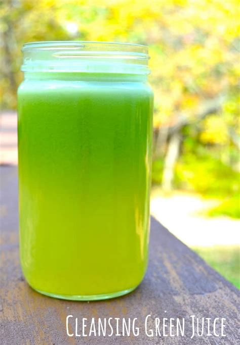 Detox Greens Juice From The by Cleansing Green Juice Recipe With Cucumbers And Romaine