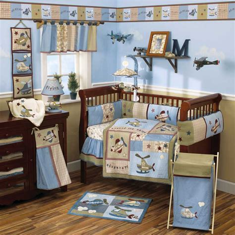 nursery themes for boys baby bedding sets and ideas