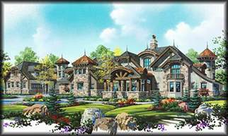 Luxury Estate Home Plans by Stock House Plans Search By Floor Plan Type