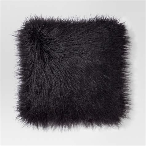 Total Home Decor Mongolian Faux Fur Throw Pillow Project 62 Target
