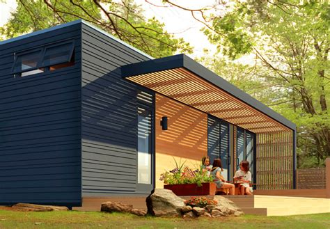 Microhouse modern prefab homes under 50k