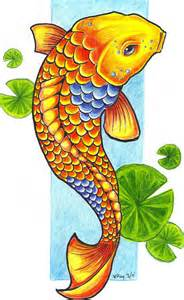 koi fish drawing color koi fish by flickter88 on deviantart