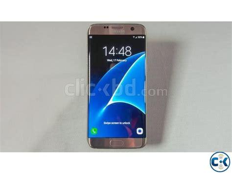 Samsung S7 Edge Single Sim brand new samsung galaxy s7 edge 32gb single sim sealed pack clickbd