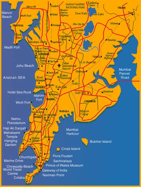 mumbai map mumbai map world map dictionary