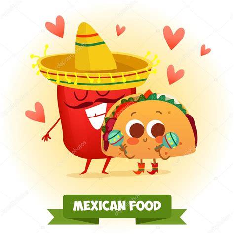 imagenes kawaii de tacos taco y pimienta mexicana archivo im 225 genes vectoriales