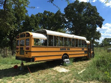 school bus house old school bus gets turned into a house on wheels vehicles