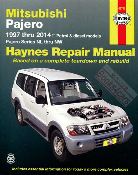 service and repair manuals 1997 mitsubishi pajero auto manual mitsubishi montero shop service manuals at books4cars com