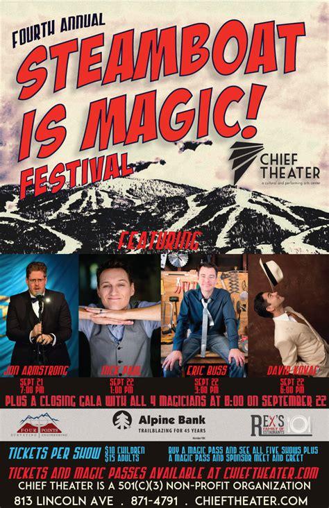 steamboat festival fourth annual steamboat is magic festival david kovac