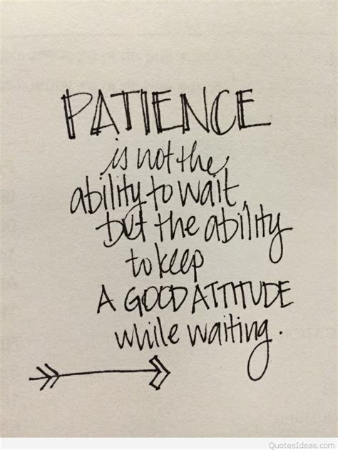 is patient is quote e card patience quote