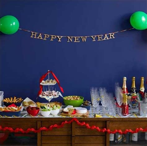 new year party decoration ideas at home house party ideas for new year