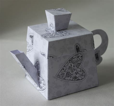 How To Make A Paper Teapot - 3d paper teapot cake ideas and designs