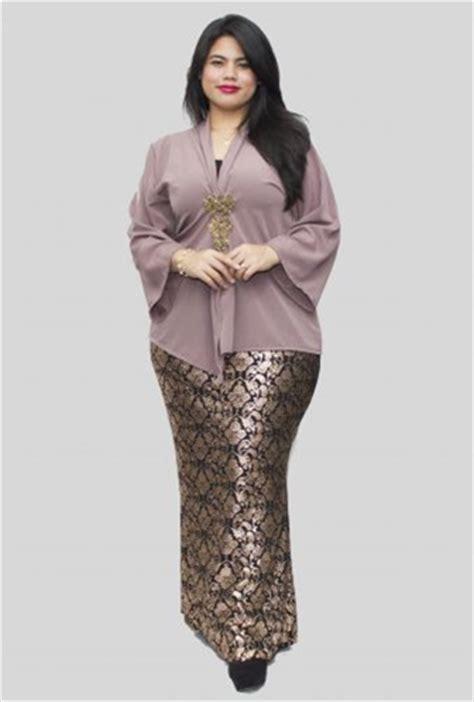baju kurung moden untuk orang gemuk 33 model baju kebaya modern yang elegan dikenakan info