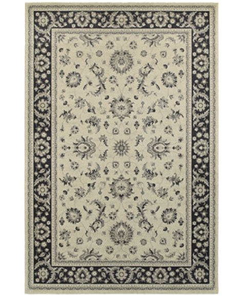 Macy S Rugs by Weavers Richmond Pira Ivory Navy Area Rugs Rugs