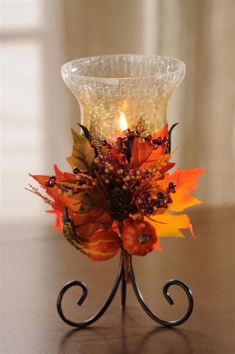 27 cozy and cute candle d 233 cor ideas for fall digsdigs