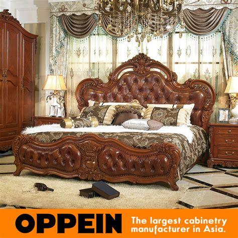 brown leather bedroom furniture buy wholesale leather bedroom furniture from china