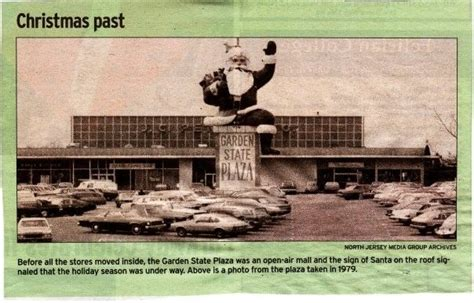 Garden State Mall Directory by Santa At The Garden State Plaza Paramus 1979