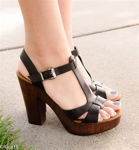 chunky high heel sandals new s sandals chunky heel platform open toe high