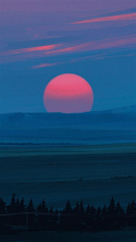 cold red light sunset kg wallpaper