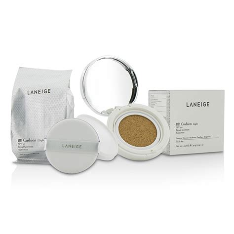 Laneige Bb Chusion Spf50 laneige bb cushion foundation spf 50 with refill