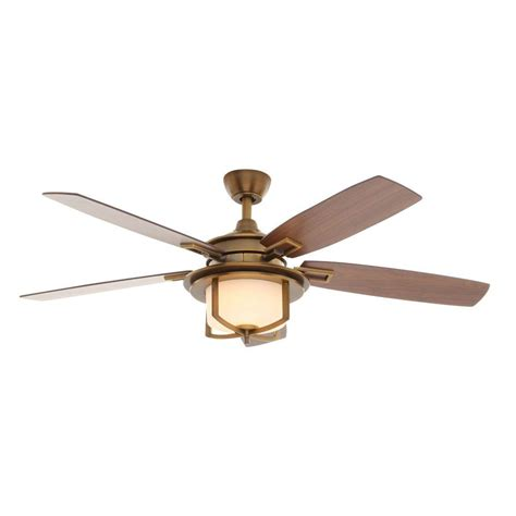 weathered gray ceiling fan with light home decorators collection 52 in indoor outdoor weathered