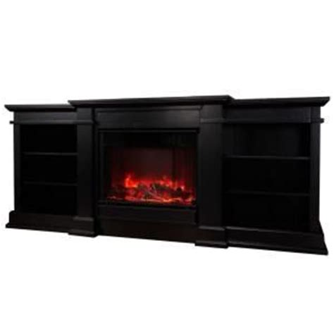 electric fireplace tv stand home depot real places wood stoves hardware fresno 72