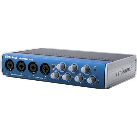 Presonus Audio Box Usb presonus audiobox 44vsl usb 2 0 recording audiobox 44 vsl b h