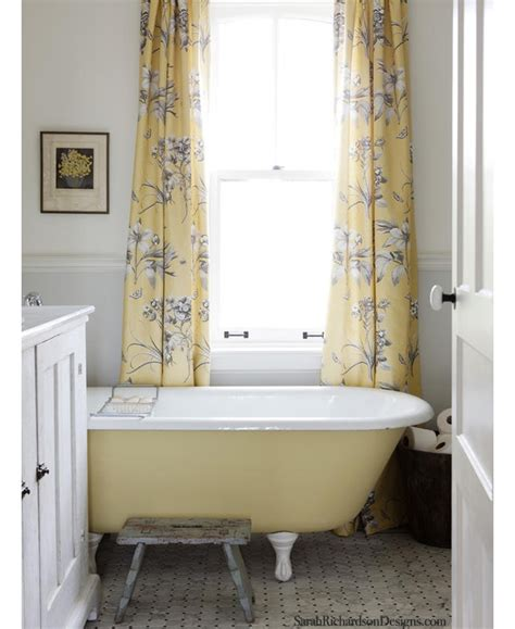 yellow gray bathroom cottage style construction haven home business directory