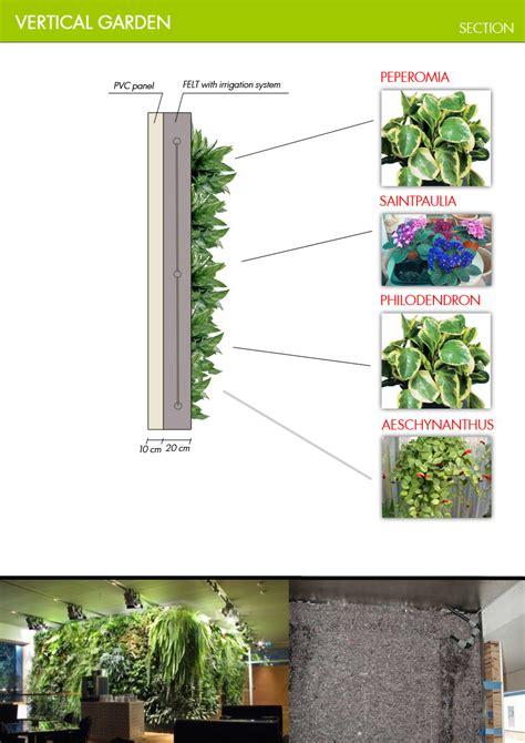 vertical garden section jovoto simplicity vertical garden restaurant