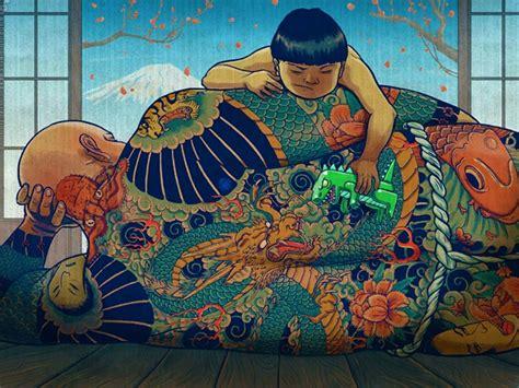 japanese yakuza tattoo wallpaper yakuza son wallpaper backgrounds androlib
