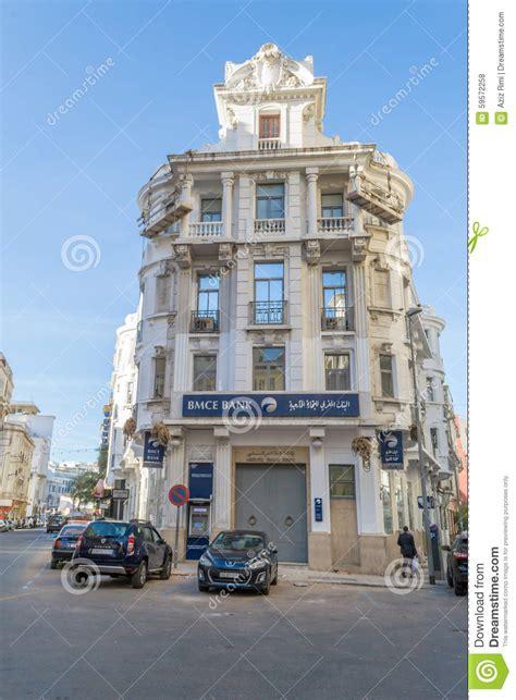 french baroque architecture building in casablanca