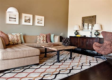 contemporary chairs for living room dishy wall color living room contemporary with decorative pillows wood flooring wool