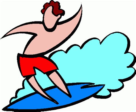 surfing clipart surfer clipart