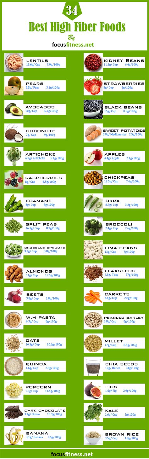 vegetables low in fiber the ultimate list of 34 high fiber low carb foods focus
