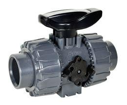 Teplon Pvc Valve pvc valve epdm teflon seals 3 4 port pvc
