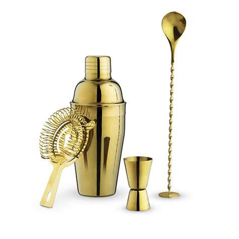 gold barware gold barware set by true