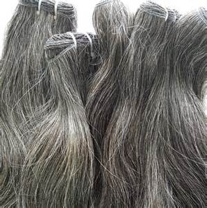 grey hair extensions gray hair extensions mane accessories