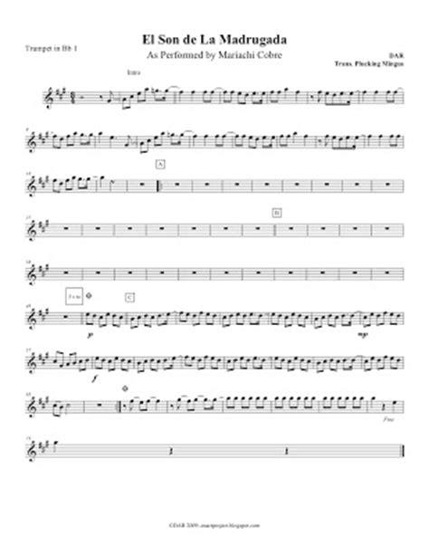 Mariachi Composition, and Transcribing Project: La