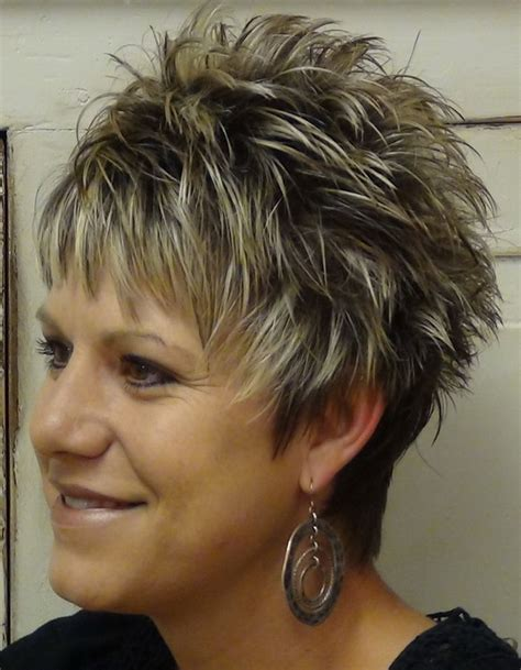 spikey hairstyles for women over 45 with fat face 63 best hairstyles images on pinterest layered