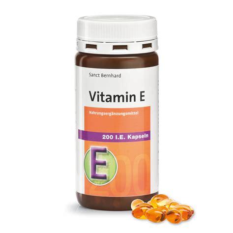 Vitamin Natur E Kapsul Vitamin E 200 I E 240 Kapsul Sanct Bernhard Vibrimed Eu