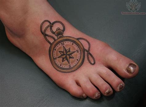 tattoo compass foot compass tattoos page 58