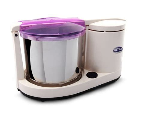 ultra dura table top 1 25l wet grinder with atta kneader