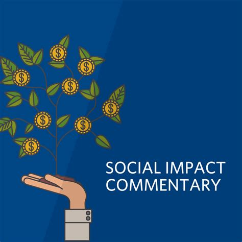Social Impact Mba Bu by Has Impact Investing Been Seduced That S One Hypothesis