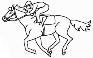 coloring pages of race horses race coloring page coloring home