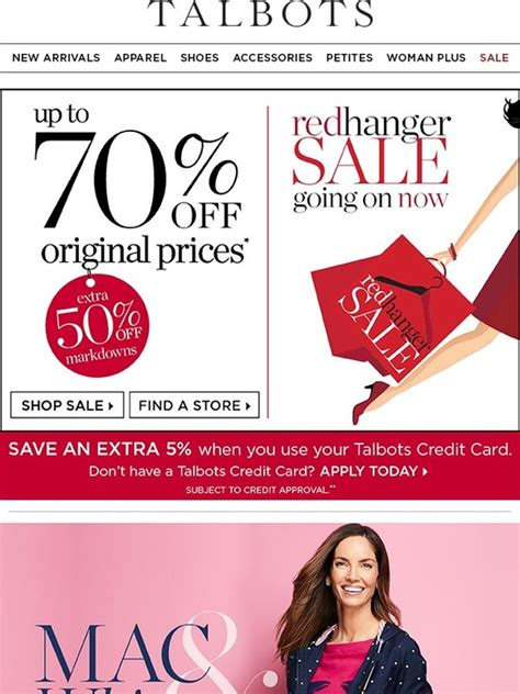 Talbots E Gift Card - talbots we ve kicked red hanger up a notch milled