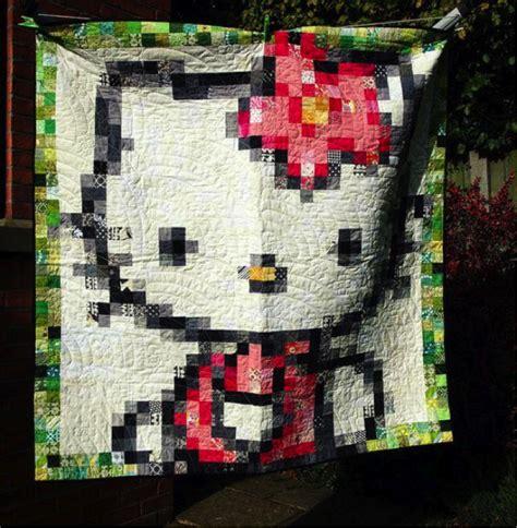 Pixel Quilt Pattern by Picture Pixel Quilts