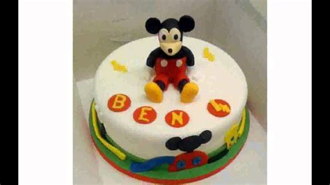 mickey mouse cake decorations youtube