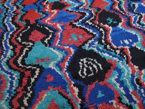 trippy rugs for sale psychedelic azilal berber moroccan rug for sale at 1stdibs